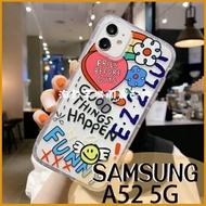 超值軟殼|三星 A52 5G 卡通透明空壓殼 紅唇愛心 史努比飛船 全包邊 軟殼 手機套 保護套