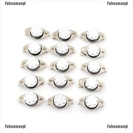Fahuamaoyi 2Pcs 10A 250V KSD301 30C~160C Thermostat Temperature Thermal Control Switch