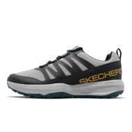 Skechers 戶外鞋 Go Trail Jackrabbit 灰 黑 綠 越野大底 防潑水 男鞋【ACS】