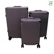 ZTQS WL กระเป๋าเดินทางอลูมิเนียม กระเป๋าเดินทางล้อลาก กระเป๋าเดินทาง กระเป๋าโครงอลูมิเนียม ขนาด 20 /24 /28 นิ้ว