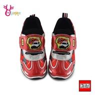 TOMICA多美小汽車 中童 舒適透氣 運動鞋電燈鞋 慢跑鞋 台灣製MIT 正版授權 L7364#紅色 奧森