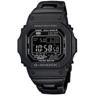 【CASIO 卡西歐】卡西歐G-SHOCK 太陽能電波鬧鈴電子錶-黑(GW-M5610BC-1)