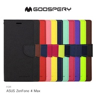 強尼拍賣~ GOOSPERY ASUS ZenFone 4 Max ZC554KL FANCY 雙色皮套 撞色 可插卡 磁扣保護套