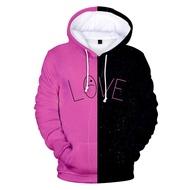 ฮิปฮอป Love Lil Peep เสื้อเสื้อสวมคอมีฮู๊ดเสื้อผู้ชาย/Streetwear Hoodies 3D Lil Peep Hoodies