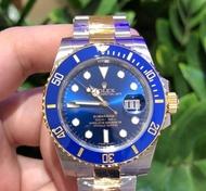 (ซื้อต่างประเทศ) ผีสีฟ้าทอง เส้นผ่าศูนย์กลาง 40 มม. ทอง 18K (ราคาเดิม 506267 บาท) เครื่องจักรอัตโนมัติ (นาฬิกาผู้ชายที่ประสบความสําเร็จ)
