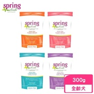 【spring 曙光】天然犬用無穀寵物餐食《雞肉/鮭魚/羊肉/火雞肉》300g