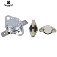 2Pcs KSD301 250V 10A Temperature Control Switch Thermostat 75 Celsius In Stock