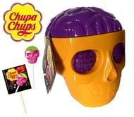 Chupa Chups Skull ลูกอม อมยิ้ม หัวกะโหลก จูปาจุ๊ปส์ ChupaChups Yellow,Purple Halloween