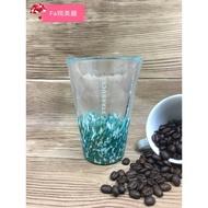 星巴克正品購買 藍綠玻璃杯 300ML (96509)