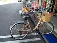 很新 橘色一台 家人自用車  二手捷安特鋁合金變速淑女車26吋 T806 6段變速(類似Ubike)