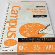 Kokuyo Campus 順滑型活頁紙