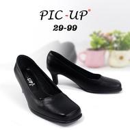 รองเท้านักเรียนนักศึกษาผู้หญิง รองเท้าคัชชู  รองเท้าส้นสูง 2 นิ้ว รองเท้าหนังสีดำ   รองเท้าแฟชั่น  รุ่น N29-99  ใหม่ล่าสุด !!!