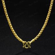 """Hot Sale สร้อยทอง ยาว24"""" สร้อยทอง ไม่ลอก ไม่ดำ ทองไมครอน ทองชุบ ทองหุ้ม รุ่น N 529 ราคาถูก สร้อย สร้อย คอ สร้อย พระ สร้อย คอ ผู้ชาย"""