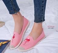รองเท้าคัชชูส้นเตี้ยสไตล์เกาหลี CCL-1665