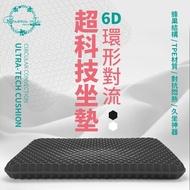 【台灣賣家】6D科技蜂巢坐墊 雞蛋墊 減壓坐墊 透氣坐墊  水感凝膠坐墊 冰涼坐墊 辦公室坐墊 凝膠座墊