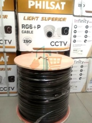 Kabel Cctv Rg6 Plus Power 300 Meter - 1Roll