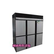 《利通餐飲設備》瑞興6門風冷 全冷凍冰箱