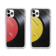 iPhone12 i11最新立體唱片紋路四邊防摔手機殼 蘋果apple Pro/Max