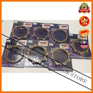 King Drag Disc Disk Clutch Plate Friction Y110 LC135 LC 135 RXZ Y125Z 125Z Ex5 Dream Wave W125 Motorcycle Yamaha Honda