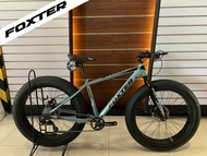 FOXTER TRITON 2020 *Hydraulic Brakes* Fatbike AUTHENTIC Bicycle Mountain Bike MTB Gray