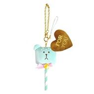【五折】宇宙人 情人節 娃娃吊飾 棒棒糖造型 craftholic 日本正版 該該貝比日本精品
