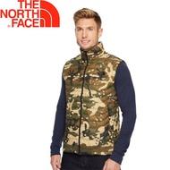 [現貨]The North Face 美國 男款 ThermoBall 背心《綠迷彩》/防風/暖魔球/輕量/365Z