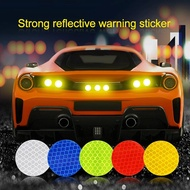 10 PCS Reflective Car Stickers / Car Reflective Stickers Waterproof Warning Stickers