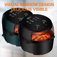 Best AIRFRYER 8.0L Visual window Automatic Fryer Bake/Grill/Fried Microwave Oven COD