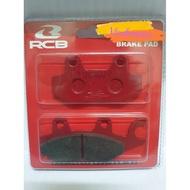 BRAKE PAD FRONT RCB Y125ZR RG110 LCII BELANG150 RACING BOY