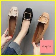 รองเท้า ร้านแนะนำรองเท้าผู้หญิง รองเท้าคัชชู รองเท้าหุ้มส้น แฟชั่นส้นแบน ส้นเตี้ยH22 รองเท้าแฟชั่น