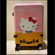 免運、全新 hello kitty 24吋 行李箱(桂格 養氣人蔘 贈品)、hello kitty 行李箱、HK 行李箱