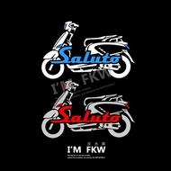 SUZUKI Reflective House Fkw Saluto Motorcycle Car Stickers Reflective Stickers