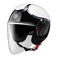 任我行騎士部品 ASTONE CJ500 LL10 白藍 3/4 半罩 都會帽 排扣 輕便