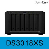 Synology 群暉科技 DiskStation DS3018xs 6Bay NAS 網路儲存伺服器