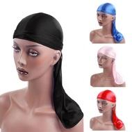 2021 1PC Pirate Hip-Hop Spandex Cap Unisex Hat Bandana Cap Solid Durag Headband Hair Accessories