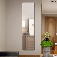 [DTM]Door mirror wall stickers self-adhesive non-perforated full-length mirror bedroo