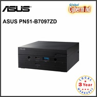 ASUS PN51 Series PN51-B7097ZD Mini PC AMD Ryzen 7 5700U with Keyboard and Mouse (Brought to you by Global Cybermind)