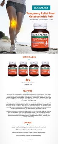 Blackmores Glucosamine 1500mg 30 Tablets