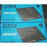 全新 LOGITECH 羅技 G304 LIGHTSPEED 無線 電競滑鼠 贈電競鼠墊