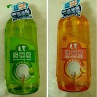 毛寶 洗碗精 (按壓瓶) 1000g 植物性椰子油 柑橘清香二款 中性配方去油力更升級 超商取貨限重5公斤