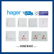 [SG Seller] Hager Muse Switch Socket Ready Stock