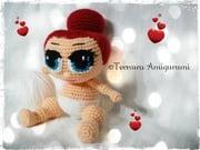 Crochet pattern doll, LOL SURPRISE Ternura Amigurumi