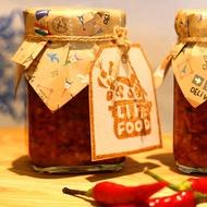 [餐桌美味] 全程手工製作 - 豆鼓剁椒醬 175g (6瓶入)→預購  (說明裡有酸菜蒸辣椒魚片的食譜唷)
