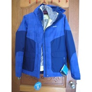 011. 全新 藍色 Columbia OMNI-HEAT 女生防水厚外套 L 原價US250