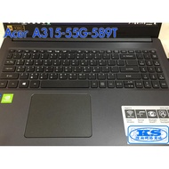 Acer A315-55G-589T 筆電鍵盤保護膜 ACER Aspire A315-55G-589T【KS優品】