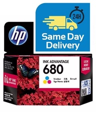 Hp 680 Original Printer Ink with Box Cartridge Black Tri Color Warna Hitam ready stock Malaysia