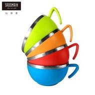 【仙德曼 SADOMAIN】 森活304不鏽鋼杯碗(4入組)12cm