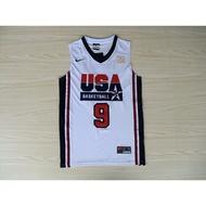 杰仔体育》喬丹 JORDAN 92年 美國夢幻一隊 大鳥 魔術 DREAM TEAM 奧運 復古 球衣 KOBE
