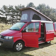 住宿 Luxury VW T5 Campervan 4 Berth Automatic 蘇格蘭, 英國