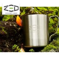 ZED 雙層不鏽鋼杯250 ZCABA0202 / 城市綠洲 (304不銹鋼、杯子、露營杯、韓國品牌)